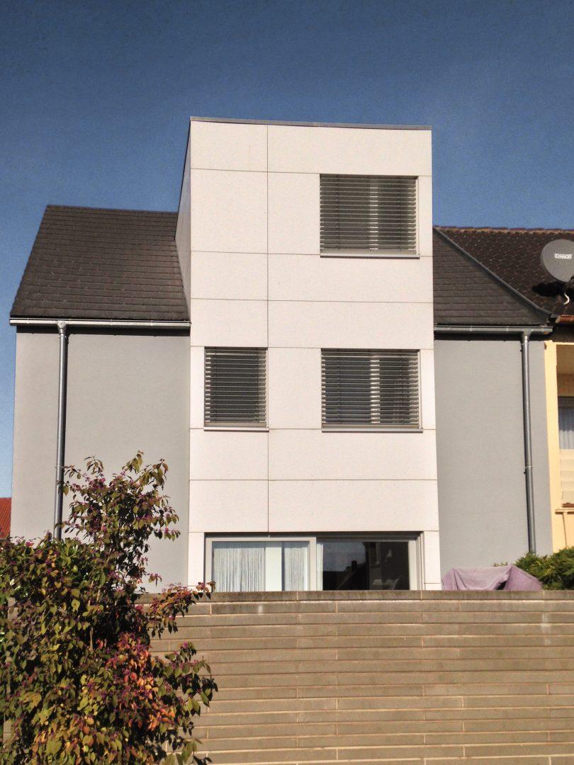 Treppenhaus einfamilienhaus außen  Einfamilienhaus: Edesheim